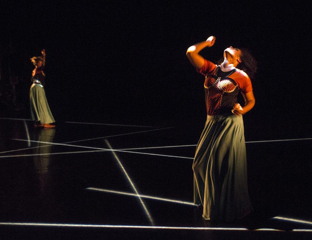 """BOOM!""; Leslie Cuyjet & Cynthia Oliver / Photo by Yi-Chun Wu"