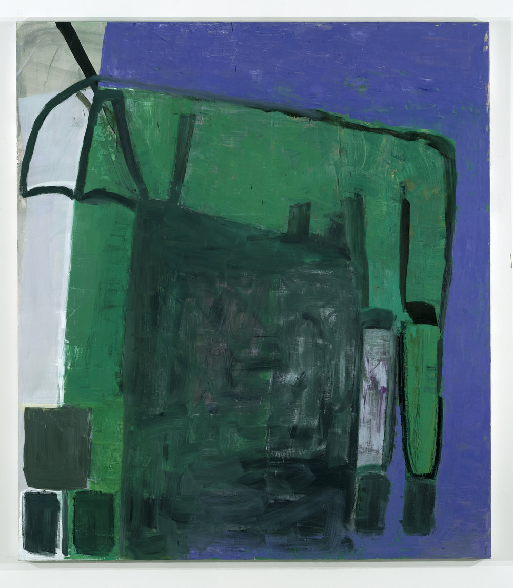 Figure 3. Amy Sillman, Back of a Horse Costume×2 (2015–16). Oil on canvas, 75 × 66 inches (190.5 × 167.6 cm). © Amy Sillman. Courtesy of the artist and Gladstone Gallery, New York and Brussels.