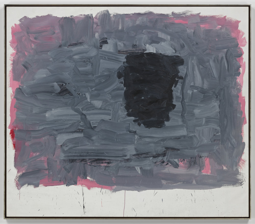 Figure 4. Philip Guston,  Portrait I  (1965). Oil on canvas, 68 3/8 × 78 inches (173.7 × 198.1 cm). The Estate of Philip Guston. Courtesy of Hauser & Wirth.