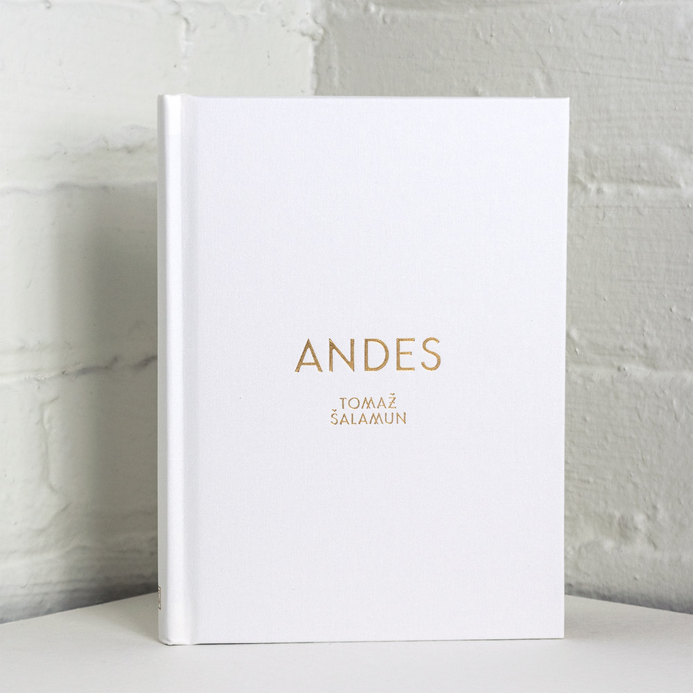 Andes book cover design by Abby Haddican.