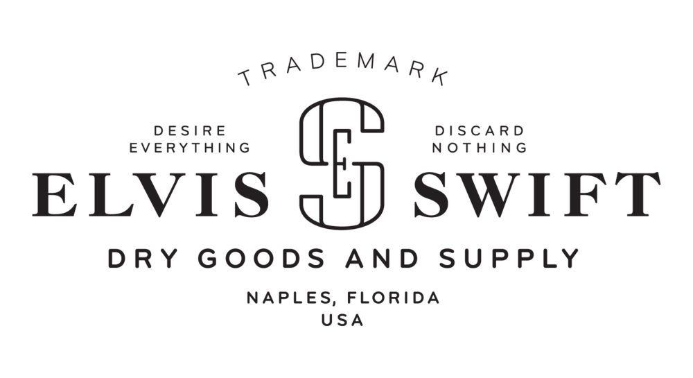 Elvis Swift logo designed by Abby Haddican at Werner Design Werks
