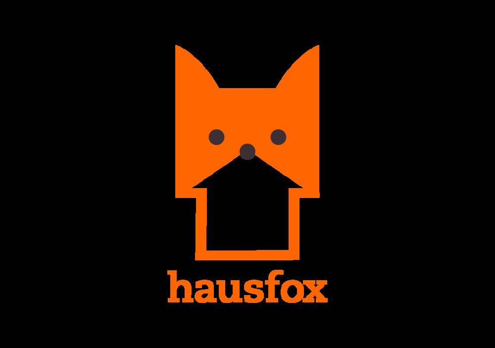 Hausfox logo designed by Abby Haddican