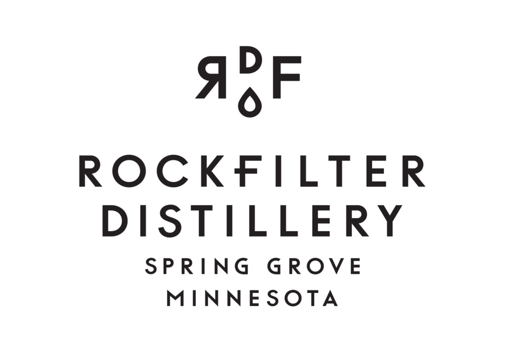 RockFilter Distillery logo designed by Abby Haddican at Werner Design Werks