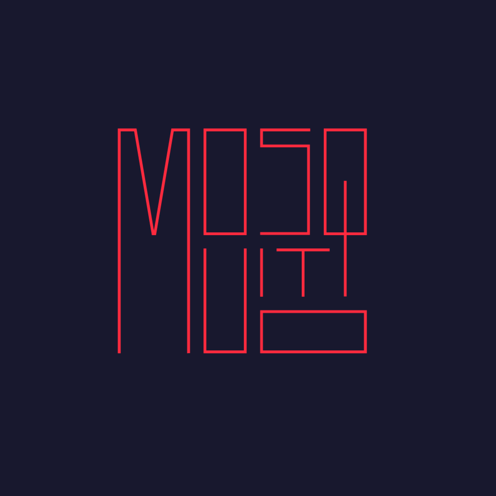 Mosquito typography by Abby Haddican