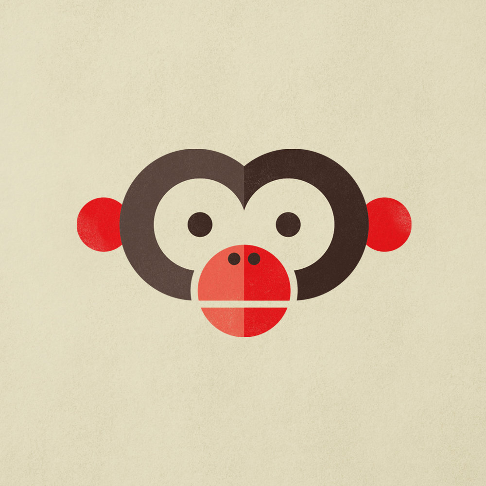 Year of the Monkey illustration by Abby Haddican