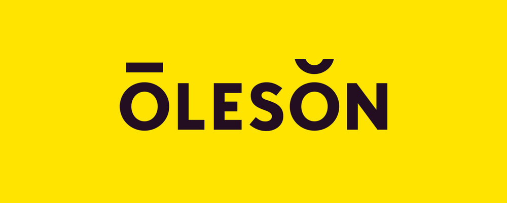 Oleson logo design. Designed by Abby Haddican at Werner Design Werks.