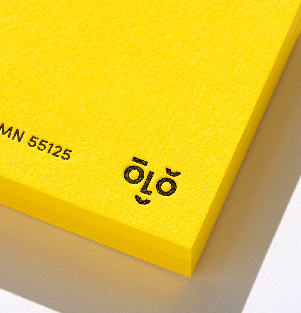 John Oleson identity designed by Abby Haddican at Werner Design Werks