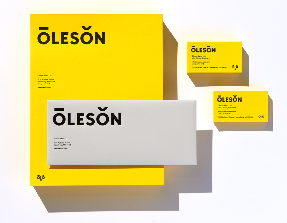 Oleson Identity - See Full Project