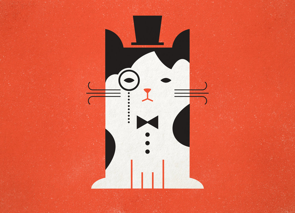 Cat illustration by Abby Haddican