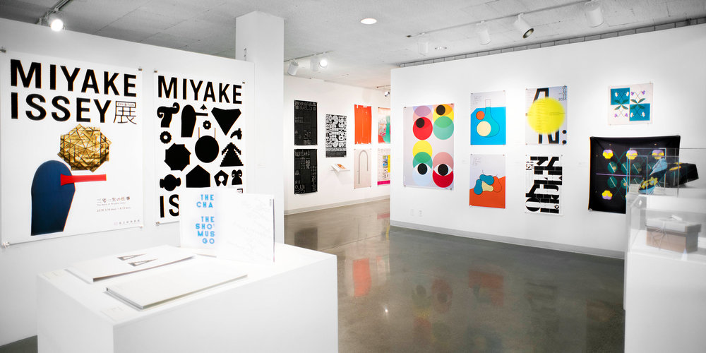 Tokyo Type Directors Club Exhibition at MCAD, October 2017