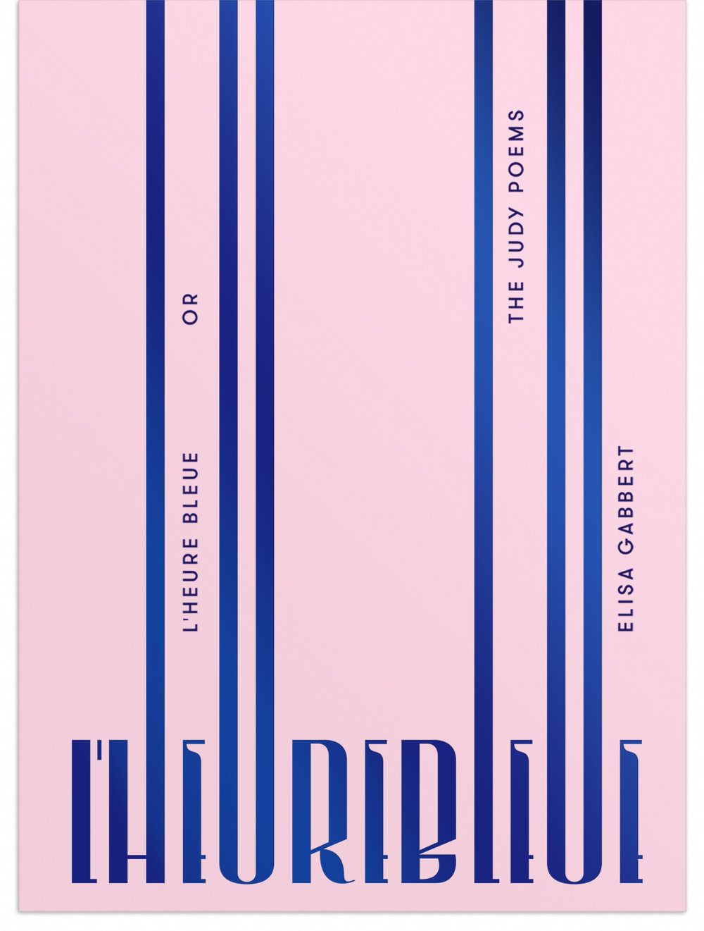 L'Heure Bleue Book Cover - See Full Project