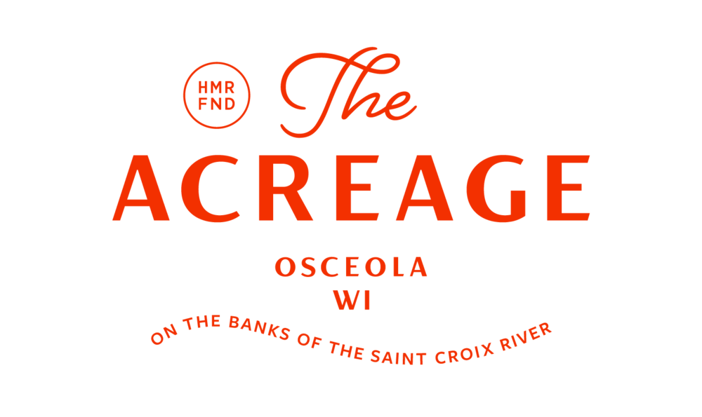 The Acreage at Osceola logo designed by Abby Haddican