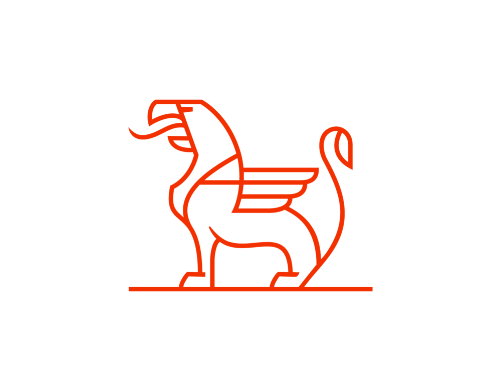 Griffin logo designed by Abby Haddican