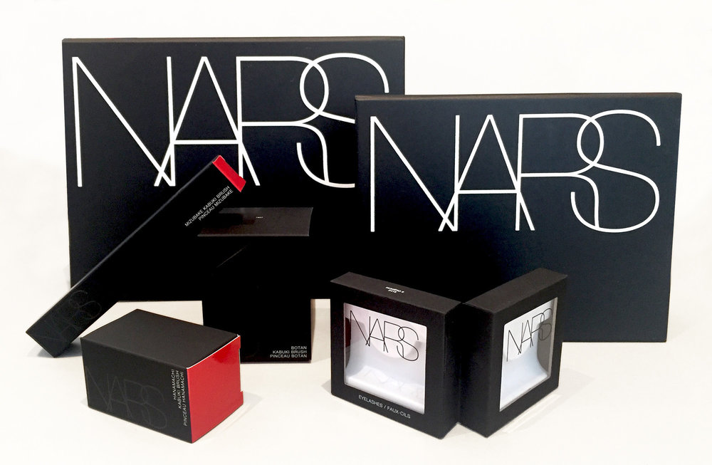 Nars - Stylist Palettes, Cartons & Eyelash Box