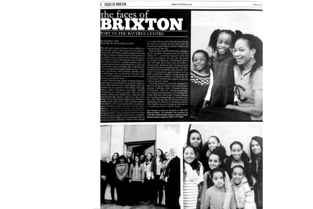 Brixton Bugle / January 2015