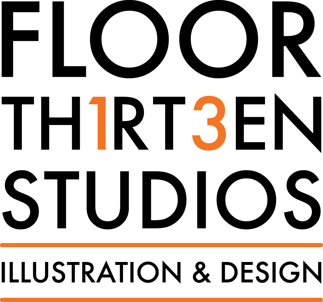 Floor 13 Studios Illustration & Design by J. Adam Farster