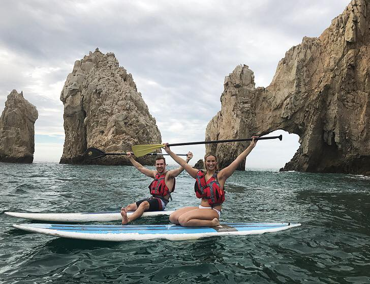 A SUP ride to the Arch