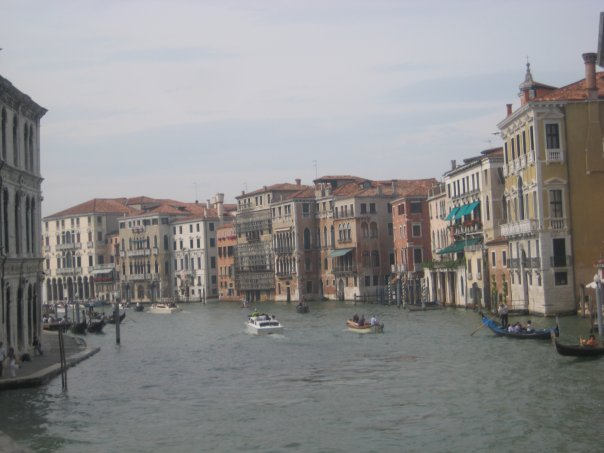 a gondola tour of Venice
