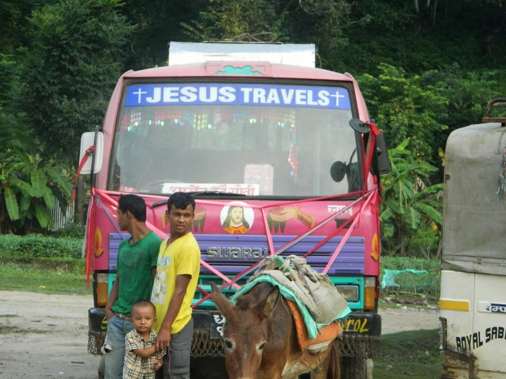 Jesus travels... and so can you!