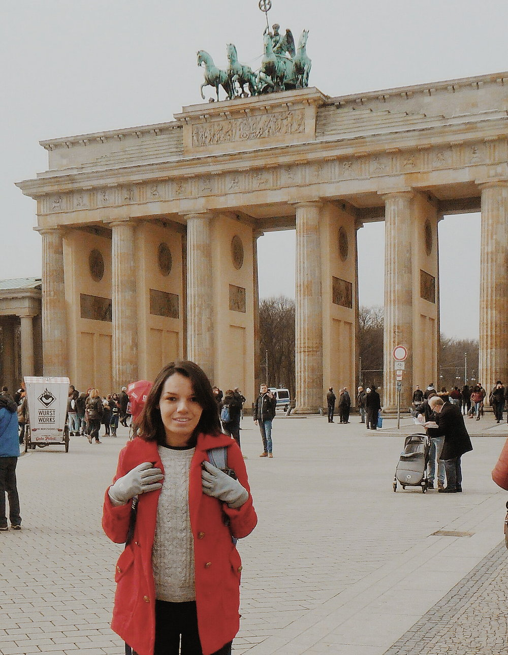Jackie Arruda in Berlin, Germany. Photo by Jackie Arruda.
