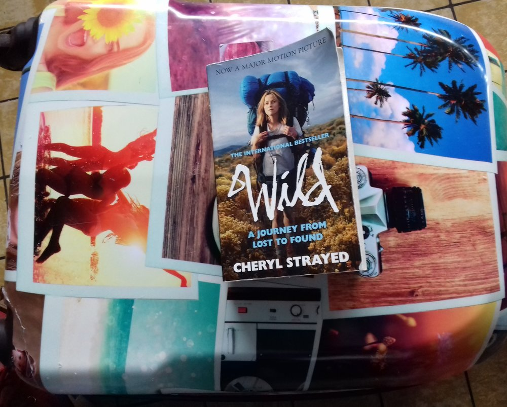 I always keep my favourite books around me when I'm traveling. This one is Wild by Cheryl Strayed.  Photo by Jackie Arruda.