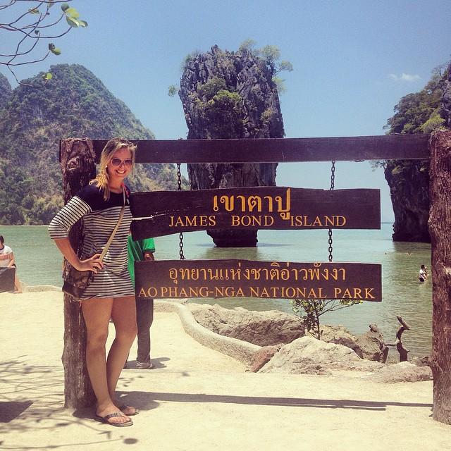 Visiting James Bond Island