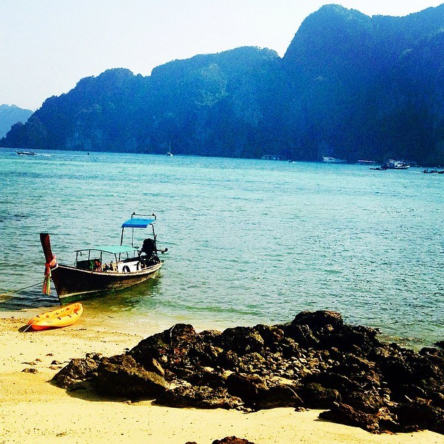 A fishing boat in Thailand