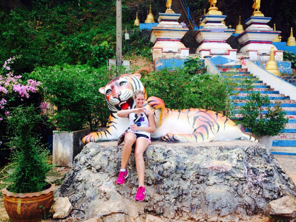 Outside of Tiger Cave Temple