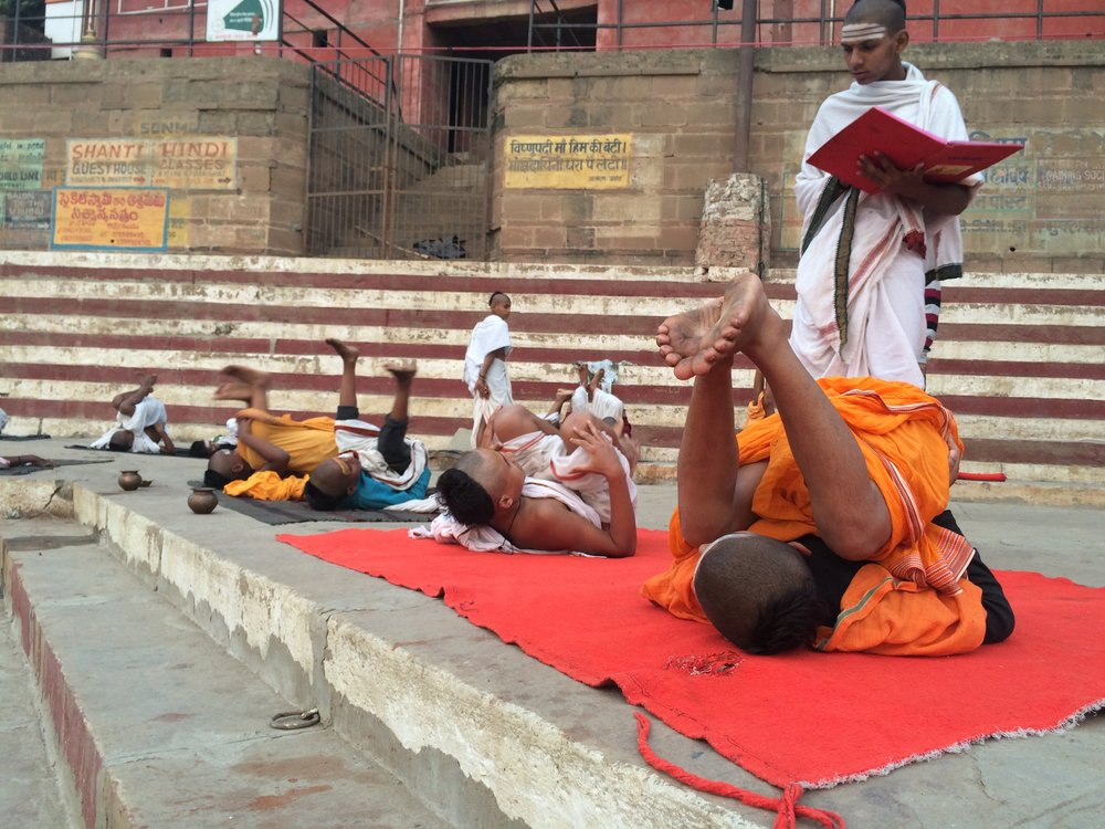 Brahmin Priest Boys