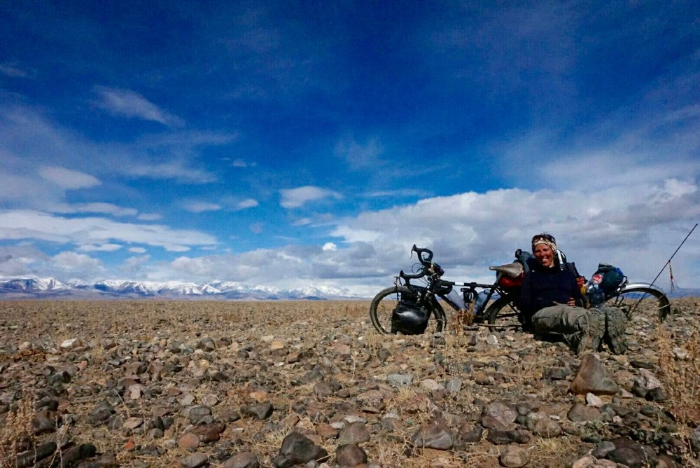 Crossing the 'Sea of Stones' in Mongolia ... tough but worth it!!