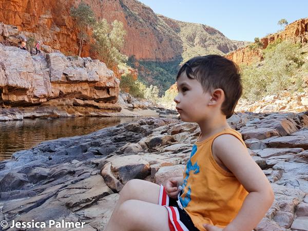 Ormiston Gorge in Central Australia