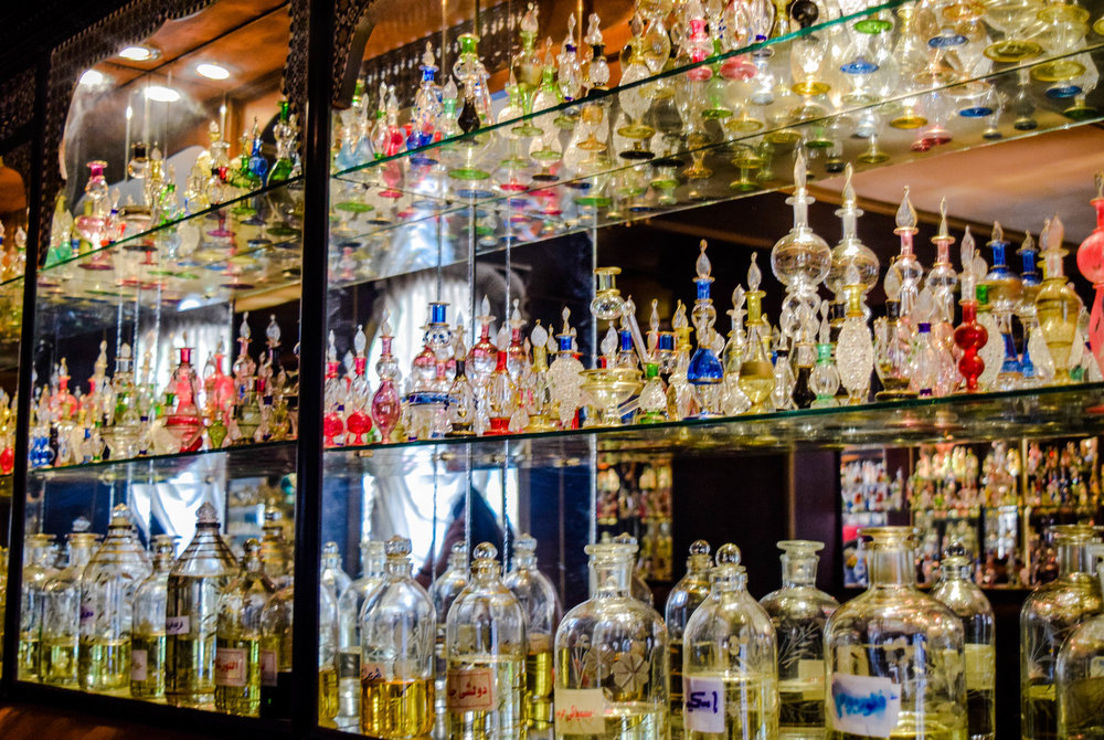 A perfume shop and factory in Aswan where traditional Egyptian perfumes and oils are made proved to be better priced than shopping in the nearby market.