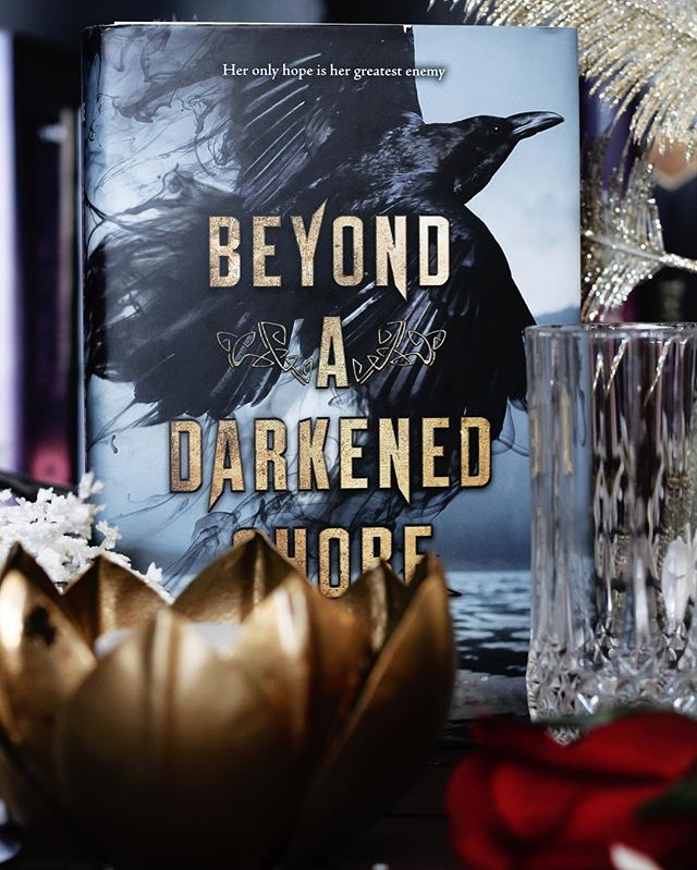 i include this wonderful book in the april @thebookiebox and i couldn't have picked a better book for that month!! beyond a darked shore by @jessleake was one of my favorite reads of this year!  what is one of your favorite new releases?  #thebookiebox #bookishcandles #bookcandles #bookish #beyondadarkenedshore #youngadultbooks #bookstagram #booksubscriptionbox