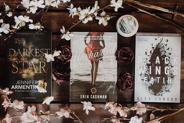 here are a few of the arcs i have received lately that i can not wait to read!!! had anyone else had the chance to give these a read!?! i'm especially excited for the darkest star!! #thedarkeststar #blackwingsbeating #bookstagram #bookarc #newyabooks