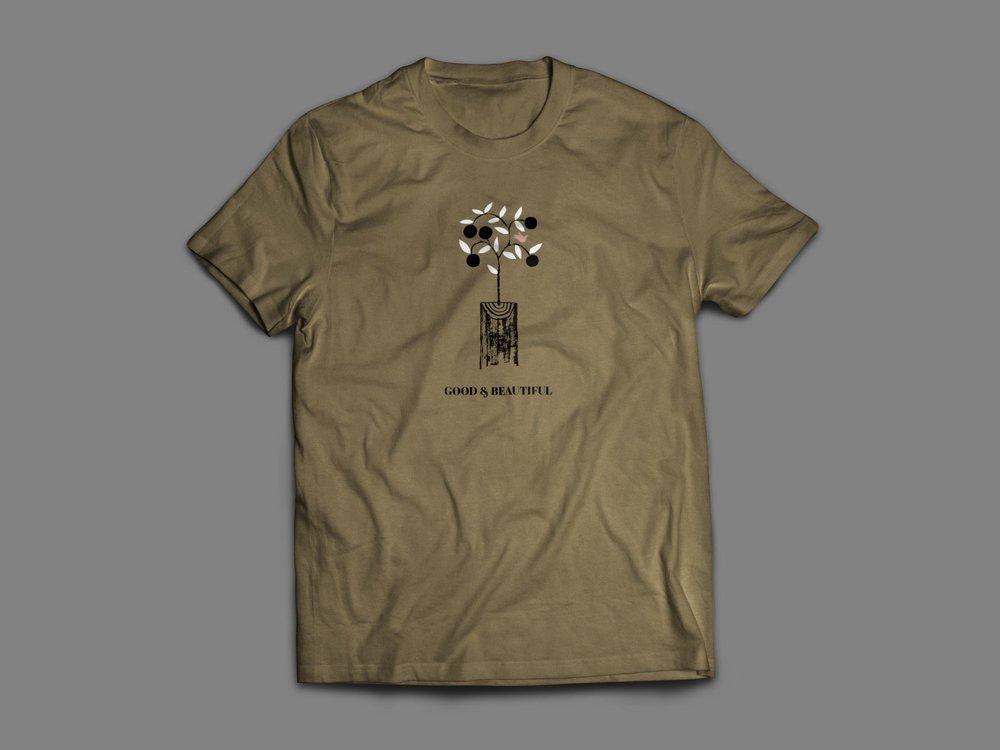 Good&Beautiful Shirt Olive Mockup.jpg