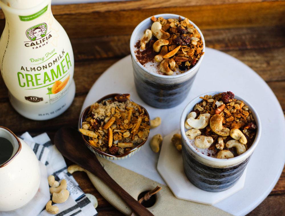 Almondmilk Oatmeal Latte