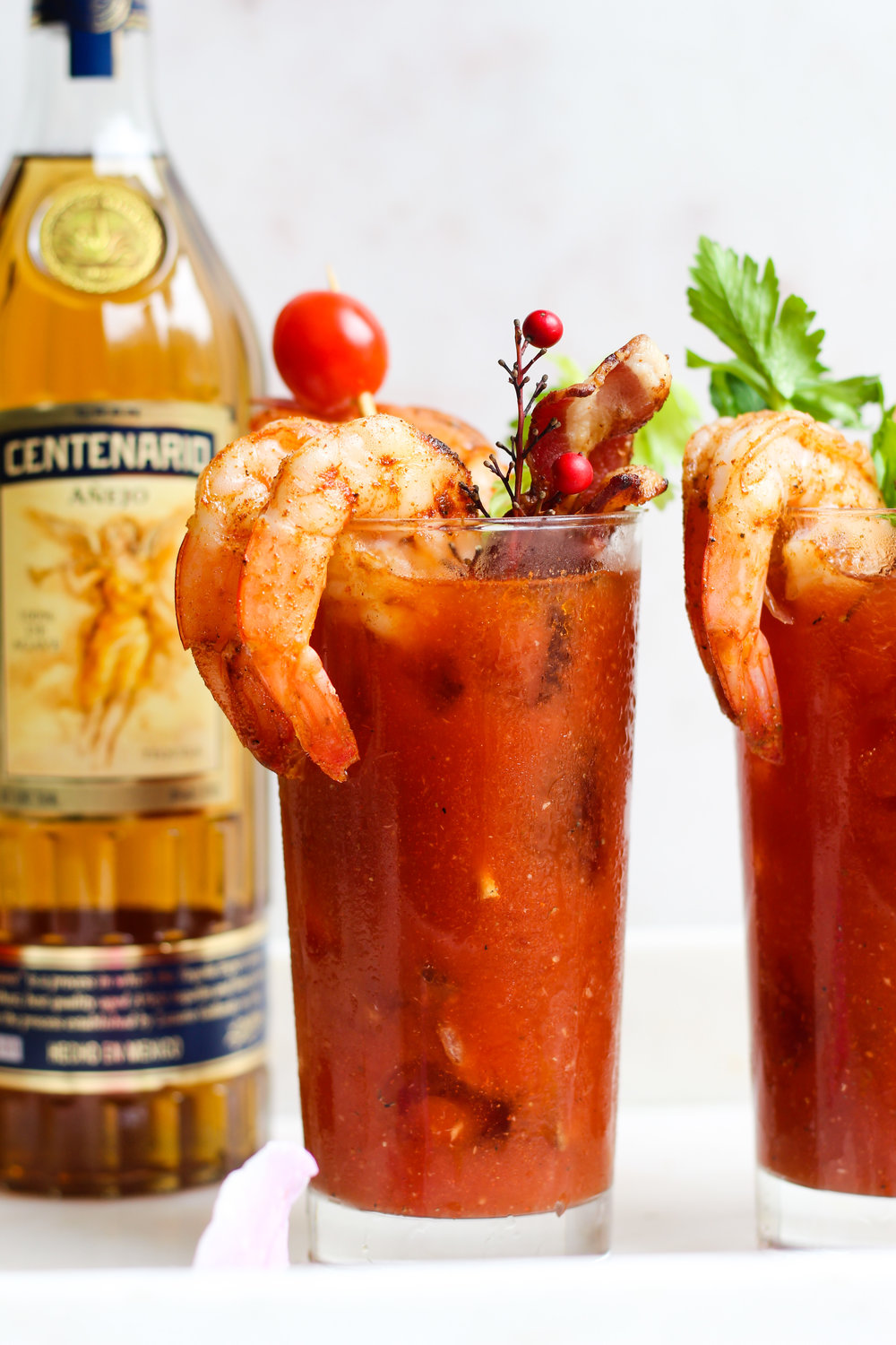 Tequila Bloody Mary's
