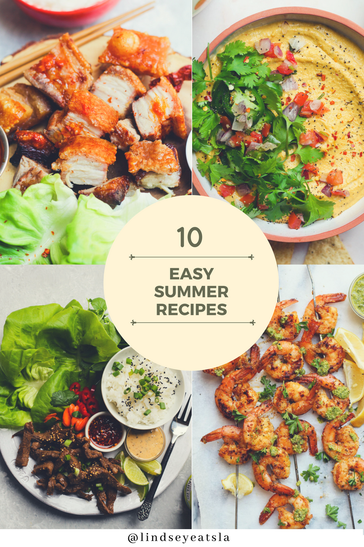 10 Easy Summer Recipes