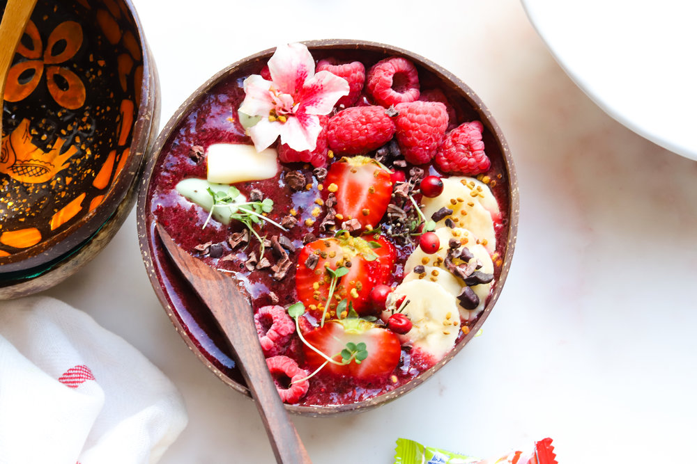 Berry Blend Smoothie Bowl