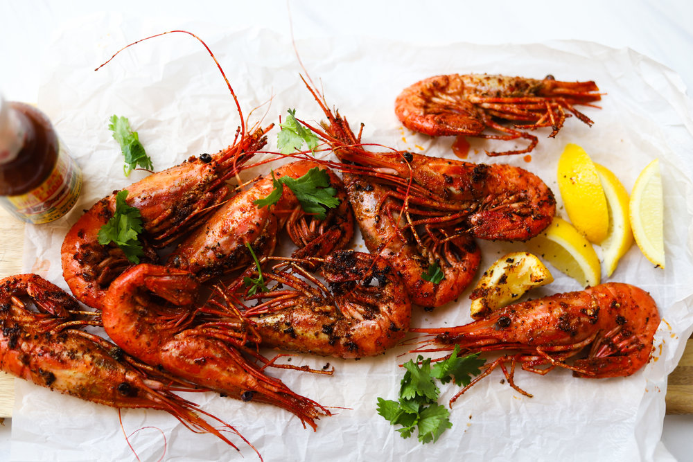 5 Ingredient Habanero Prawns