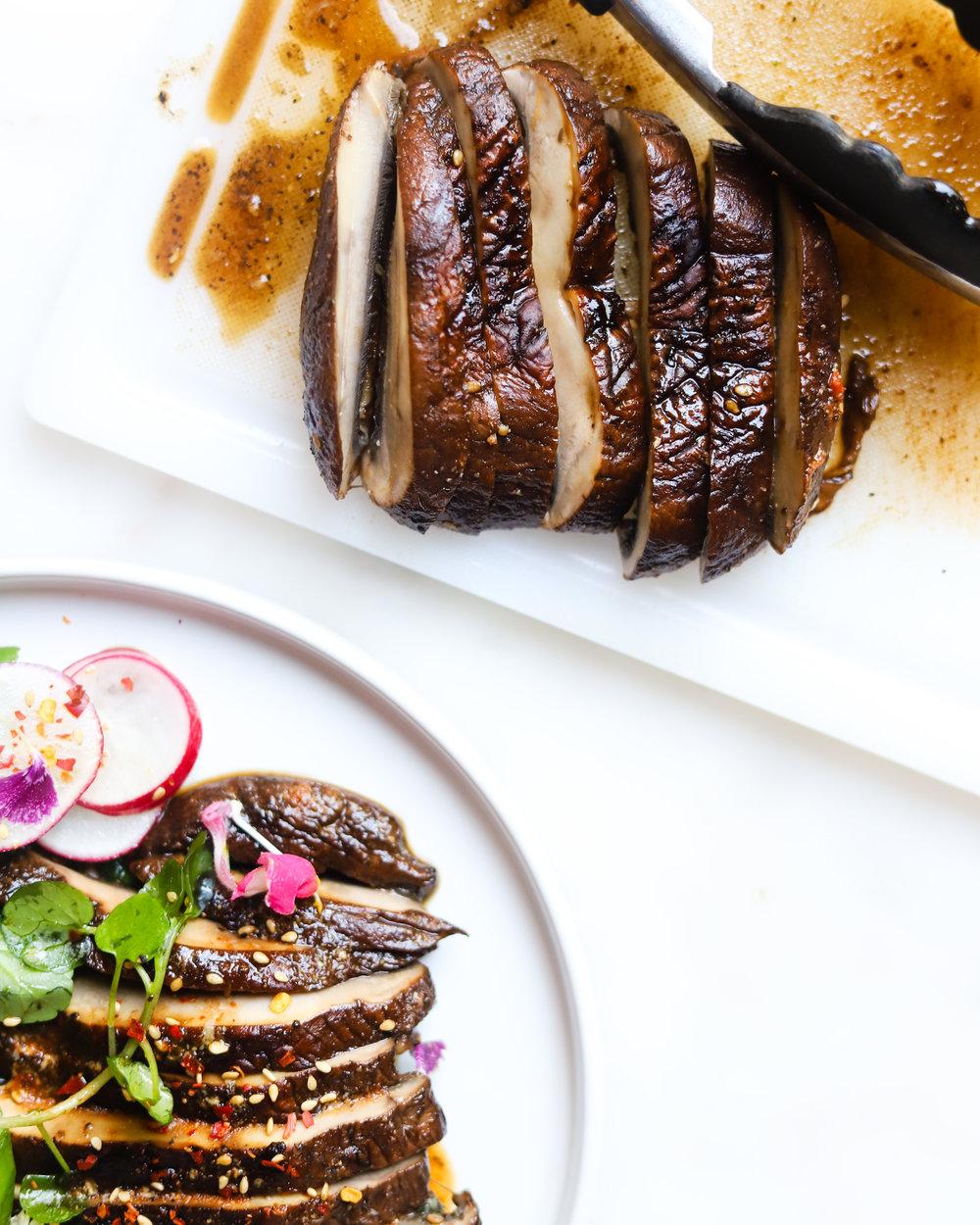 "Portobello Mushroom ""Steaks"""