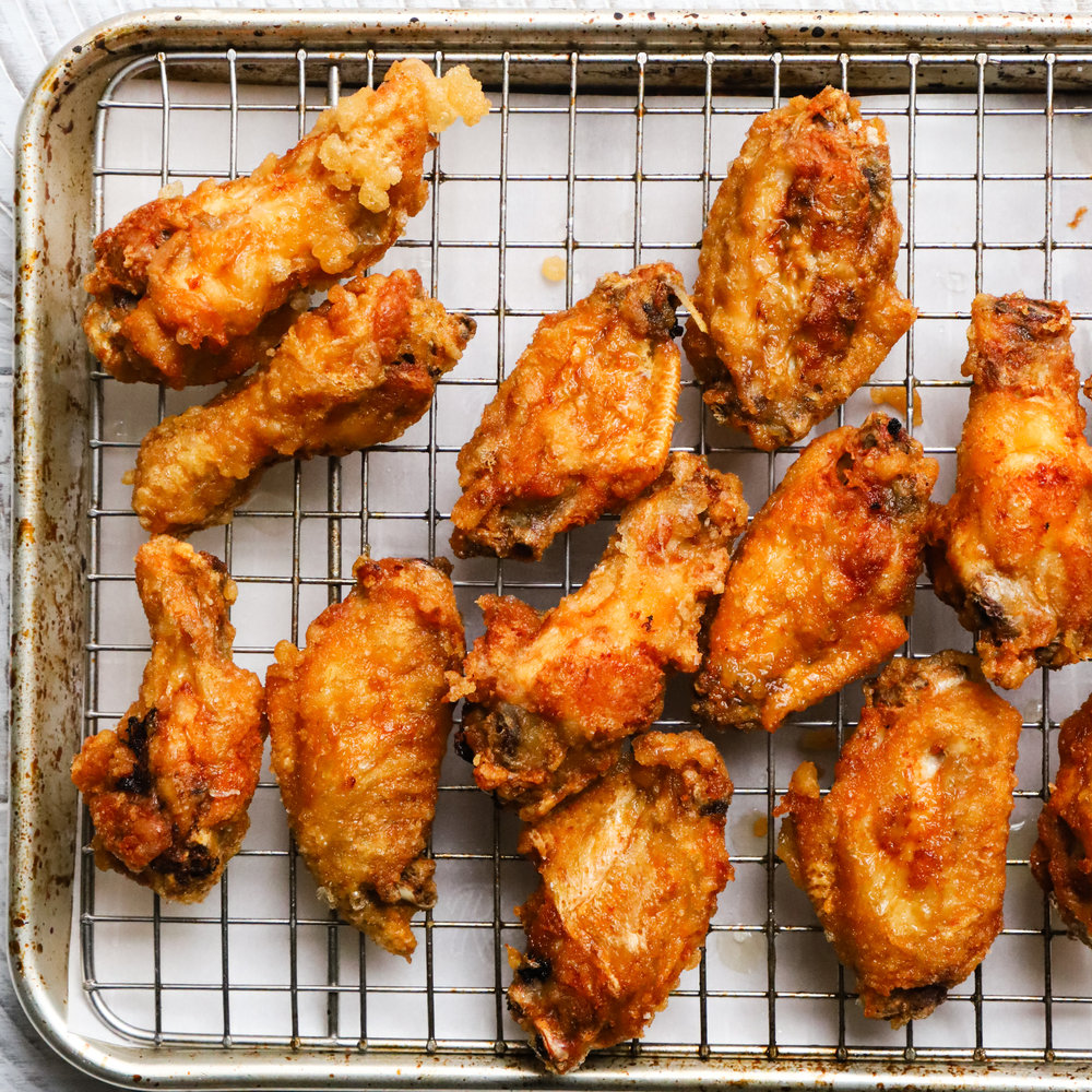 Crunchy Thai Party Wings