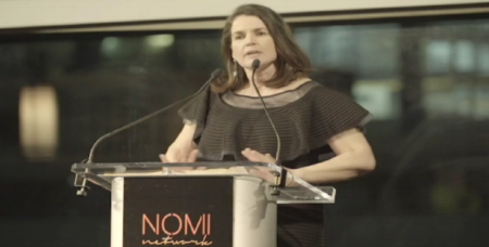 Click the image above to watch Julia Ormond's acceptance speech at the Nomi Network's 7th Annual Gala for Receiving the Global Ambassador Award
