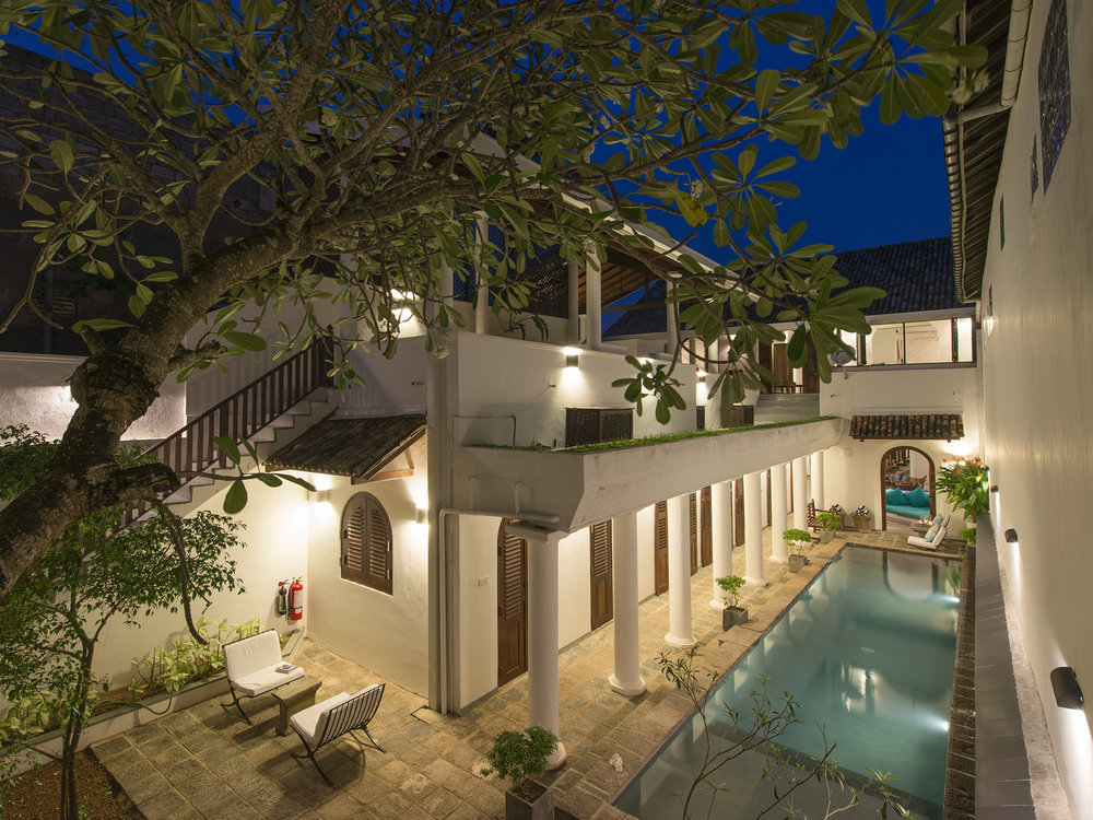 15-Ambassadors House-Galle - Pool aerial at night.jpg
