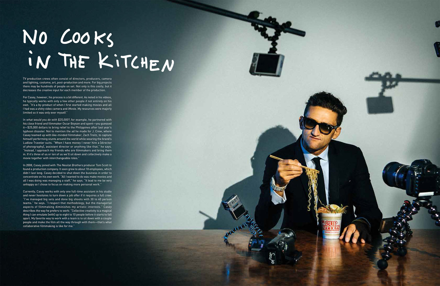 Casey Neistat: Playing With Food — BILLY MURRAY