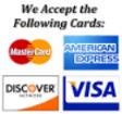 Azusa accepts Visa Mastercard Discover American Express