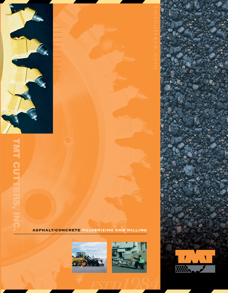 TMT Cutters brochure cover