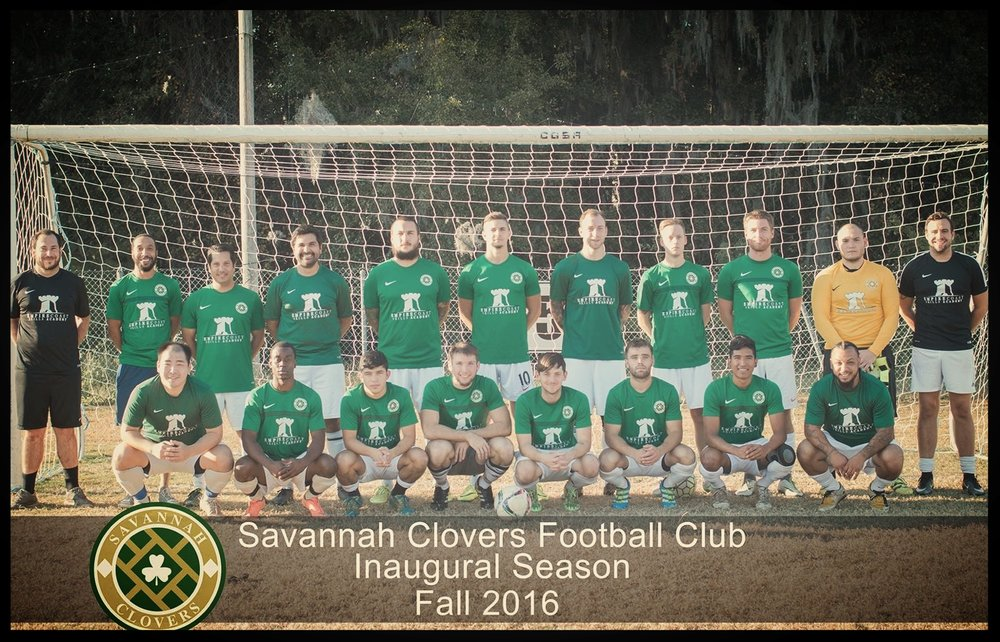 2016 SAVANNAH CLOVERS FOOTBALL CLUB