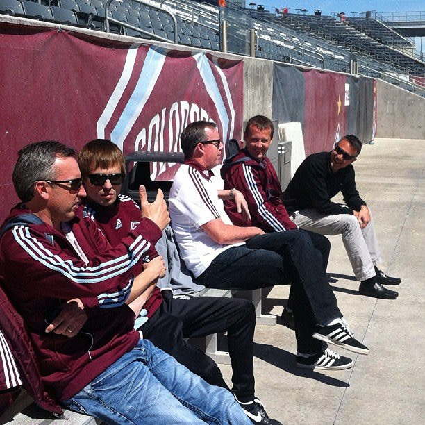 Coach Menke at Colorado Rapids