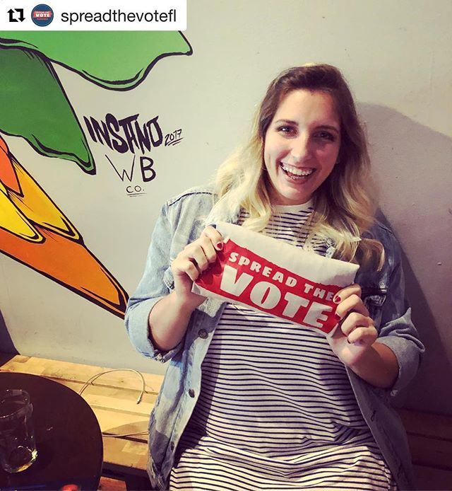 "Some #mondaymotivation to go volunteer with CEF-sponsored org, @spreadthevoteus! 🗳 ・・・ ""The most fulfilling experiences in life come from giving back and changing someone's life."" - Alexa @bigpandamarketing #volunteer"